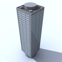 building rio 3d max