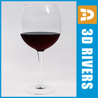 Red wine by 3DRivers