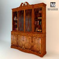 bookcase rosbri 3d model