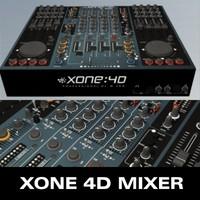 3d model xone mixer