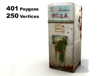 old soda machine ussr 3d max
