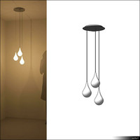 suspended ceiling lamp 3d model