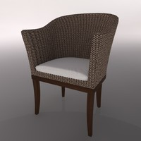 chair silla 3d c4d