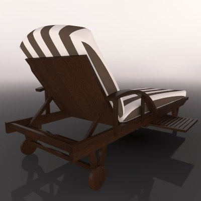 LOUNGER LOUNGE CHAIR CAMASTRO ASOLEADERO