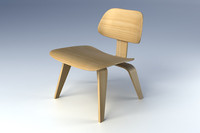 Eames molded plywood chair