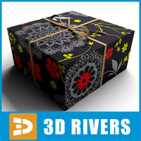 gift wrap nowadays 3d model