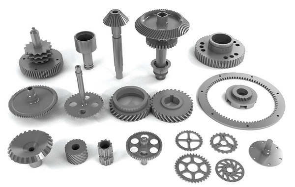 assorted gears max - Assorted Gears... by yusuf joher taherali