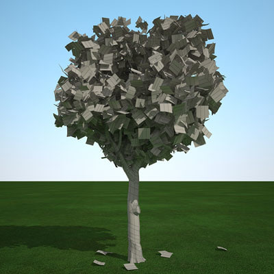 fall cedar elm 3d model - Cedar Elm fall 01 by 3DRivers... by 3DRivers