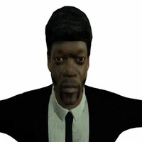 3d jules pulp fiction l model