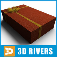 3d gift wrap nowadays model
