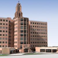 3d hospital building