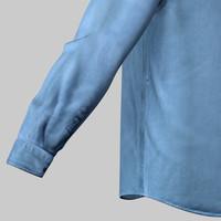 males jeans shirt 3d c4d