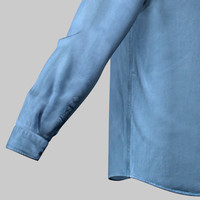 Male jean shirt