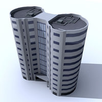 3d model of generic building