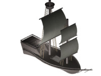 max pirate ship