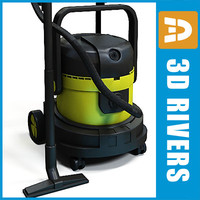 3d model vacuum cleaner 02
