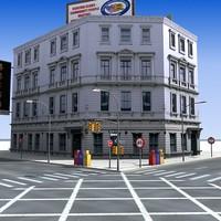 city street 3d 3ds