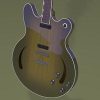 3d guitar music