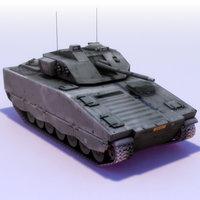 cv9030 ifv cv90 3d model