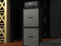 Hiwatt Custom Guitar Amp and  Stack