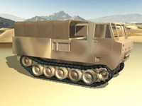 3d m548 military tank