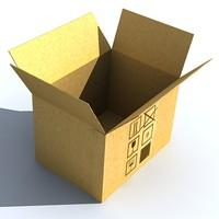 3d cardboard box.zip