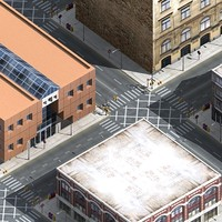 3d model cityscape