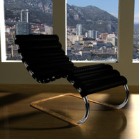 Mies Van Der Rohe MR Chaise Lounge