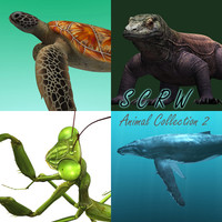 SCRW  3D Animal Collection 2