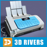 Fax machine by 3DRivers