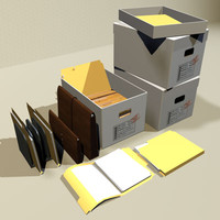 File Box and Folders 01