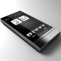 htc 2 communicator 3d model