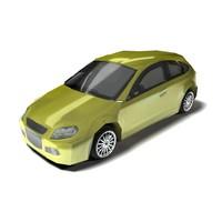 3ds city hatchback concept car
