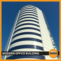 max modern office building 02