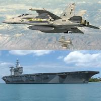Nimitz + F18E