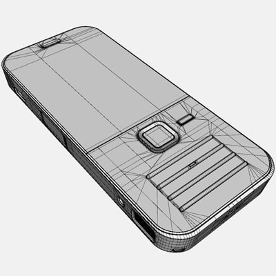 3d model nokia n78 mobile phone - Nokia N78 Mobile Phone... by HD_modelling