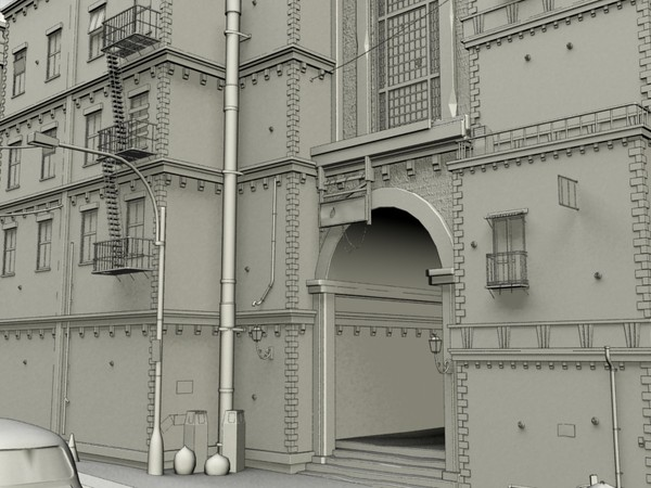 old city 3d max - Old City... by moh kkf