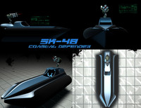 3d boat gun