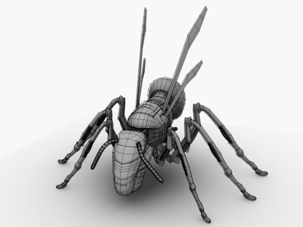 3d robotic hornet model - Robotic Hornet... by fusobotic