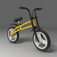 3ds max child bike
