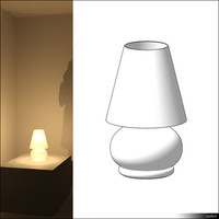 Lamp Table 00689se