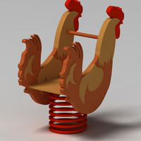 3d max rooster