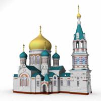 russian church 3d model
