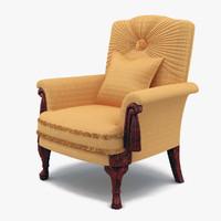 3d jumbo armchair chair