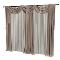 curtain gabardine 3d max