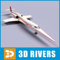 Aerion SBJ 01 by 3DRivers