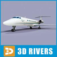 3d gulfstream g500 jets
