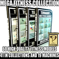3d model 60 fitness collections 2