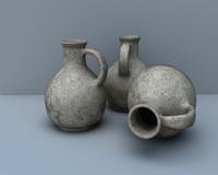 roman pot roman-pottery1 3d model