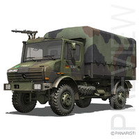 Mercedes Benz Unimog U1300 German Army ISAF